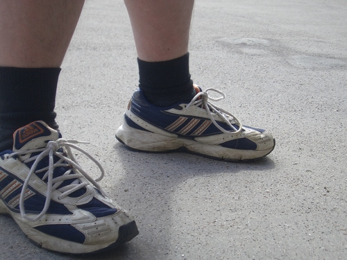 [Picture: Shoes and socks]