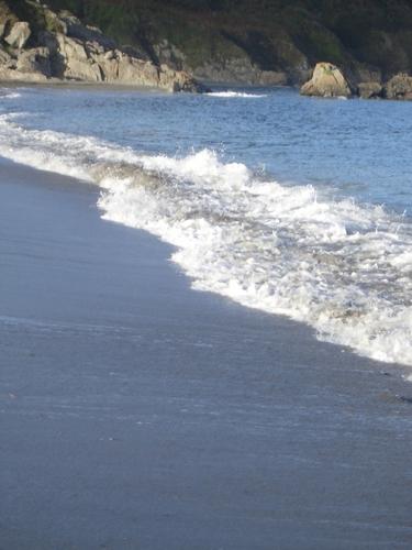 [Picture: Cornish beach]