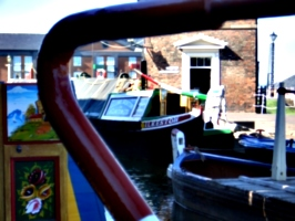 [picture: Canal boats]