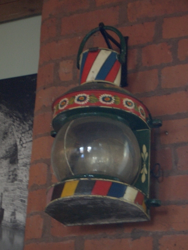 [Picture: Boat's lantern]
