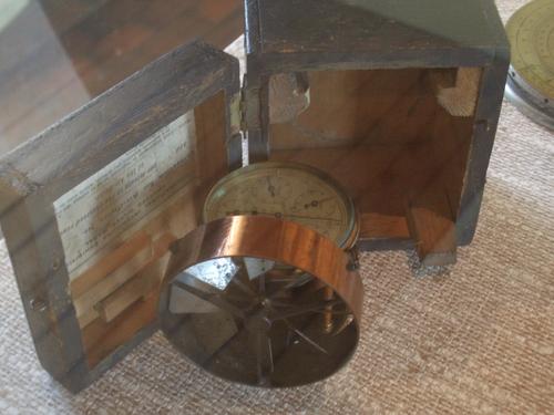 [Picture: Antique Air Meter]