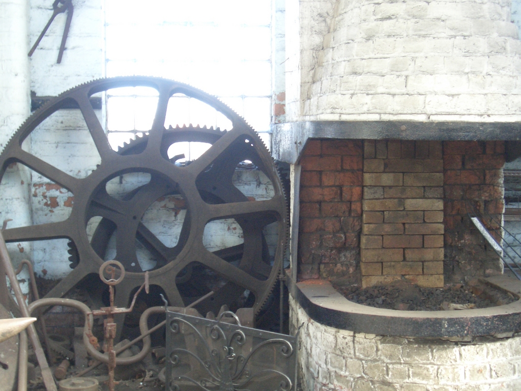 [Picture: large cog-wheels]
