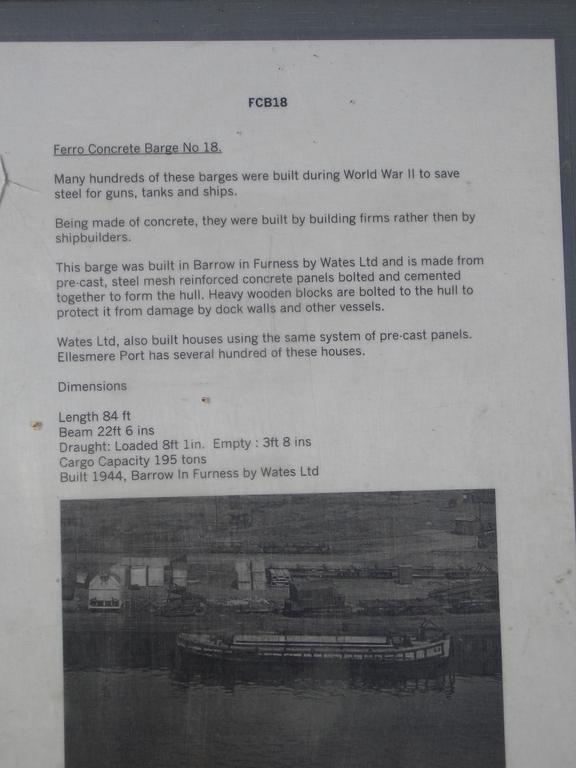 [Picture: Caption for concrete barge]