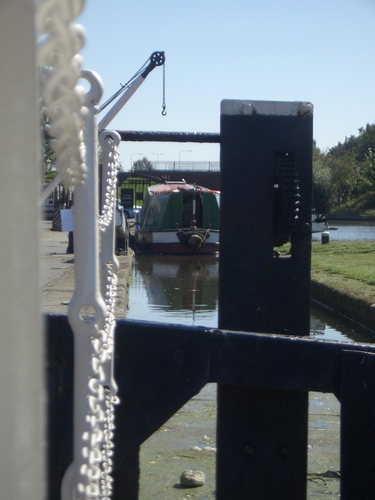 [Picture: canal boat]