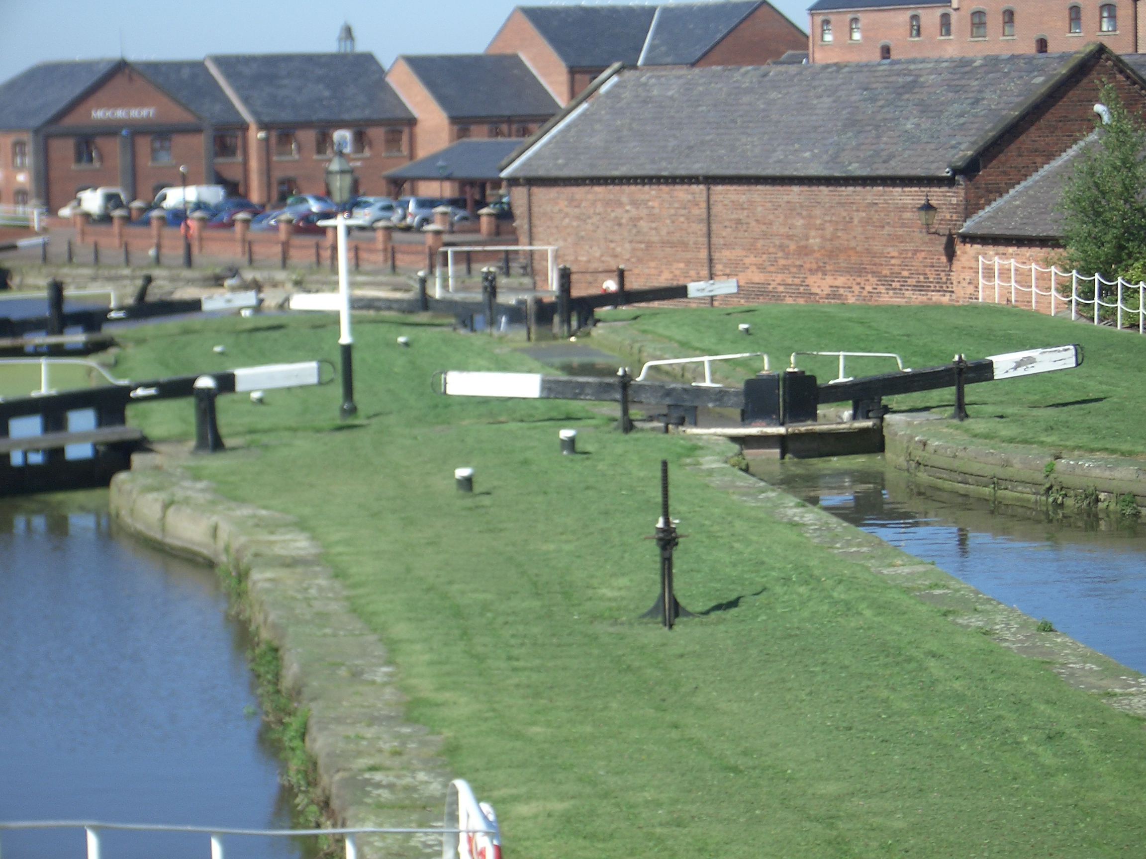 [Picture: Canal locks]
