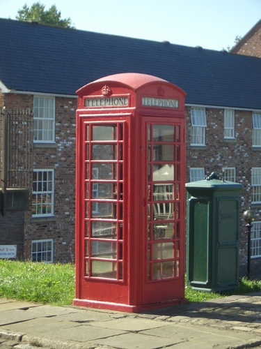 [Picture: Red Telephone Box]