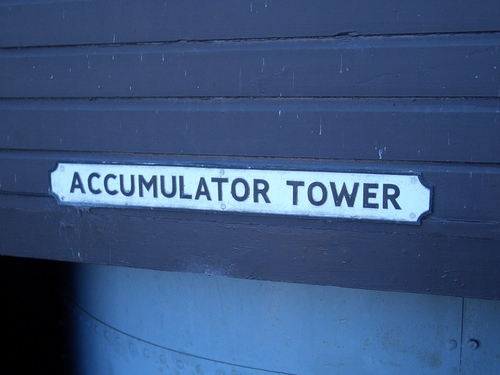 [Picture: Accumulator Tower]