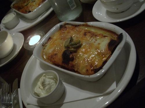[Picture: Lasagna]