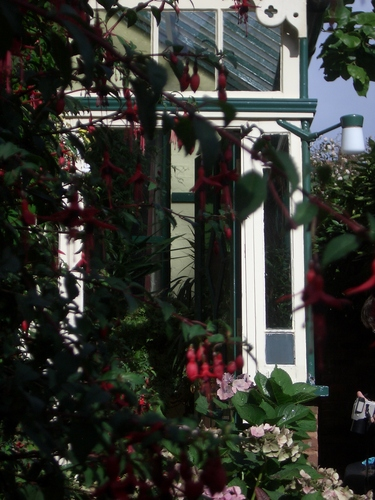[Picture: Conservatory from the garden]