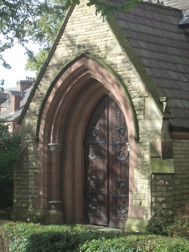[Picture: Church porch door 2]
