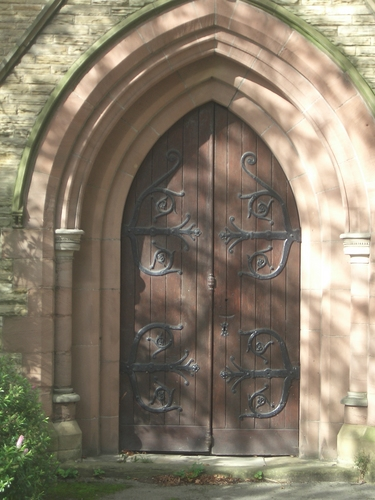 [Picture: Church porch door 3]