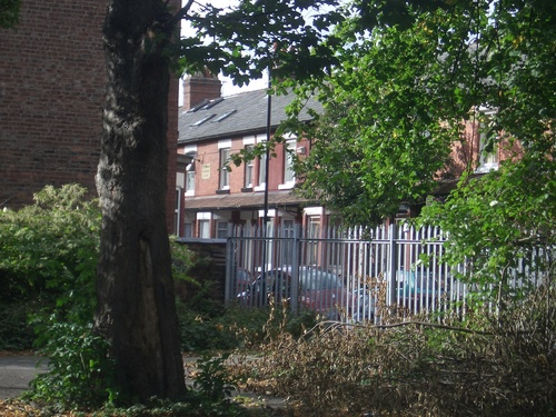 [Picture: Manchester row houses]