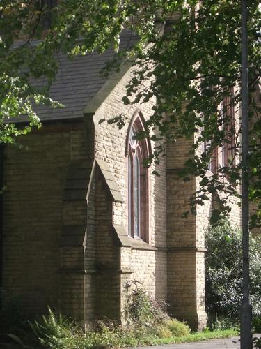 [Picture: Church corner]