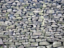[picture: Dry stone wall]