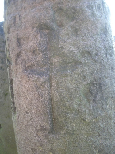 [Picture: Anglo-saxon cross]