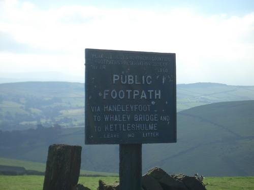[Picture: Public Footpath]
