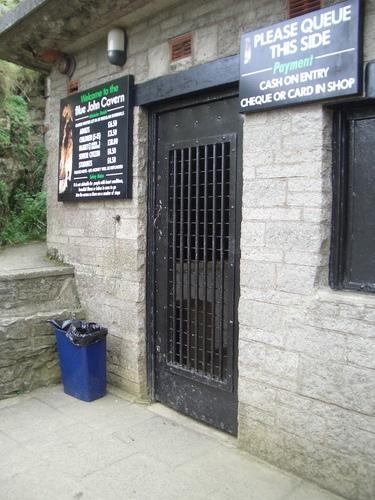 [Picture: Barred door]