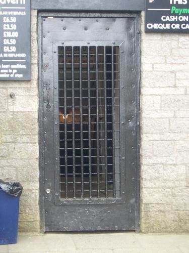 [Picture: Barred door 2]