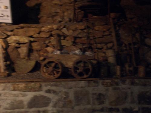 [Picture: Blue John Mine 3: miner's cart]