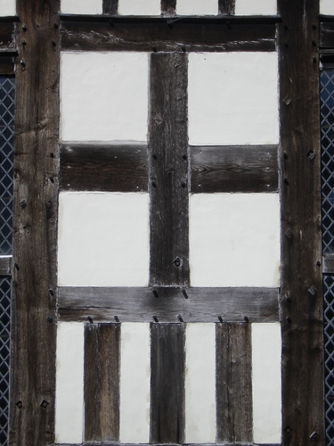 [Picture: Tudor woodwork: wall]