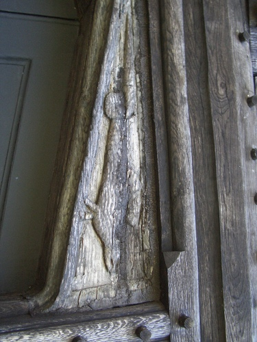 [Picture: Carved wooden detail]