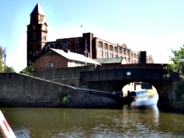 [picture: Canal bridge with Mill]