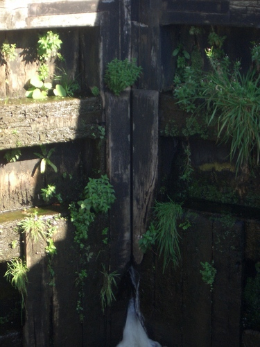 [Picture: Canal lock gates for panorama: 3]