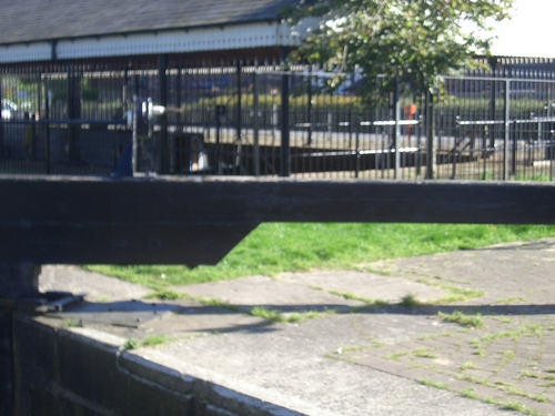[Picture: Canal lock gates for panorama: 22]