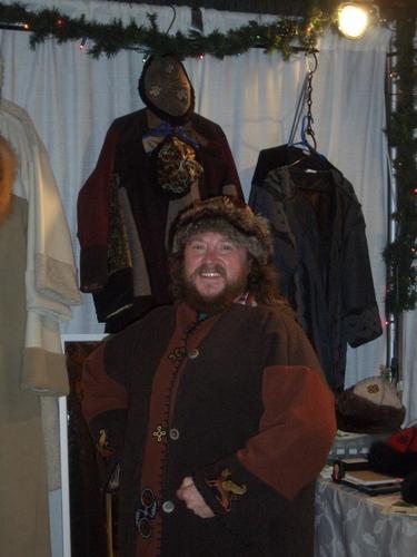 [Picture: Larry's new coat 2]