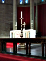 [picture: Altar at Brisbane Anglican Cathedral]