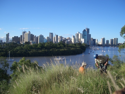 [Picture: Downtown Brisbane from a distance 2]