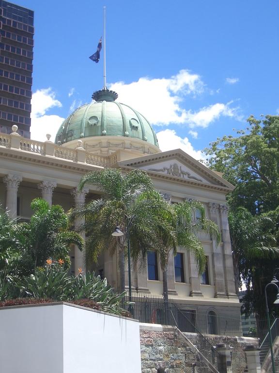 [Picture: Brisbane building]