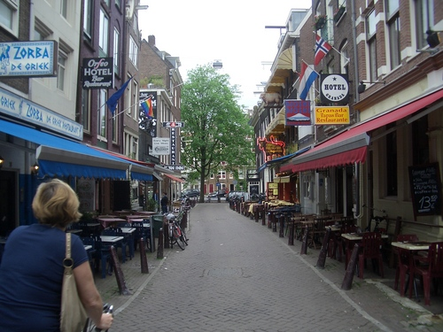 [Picture: Amsterdam side-street]