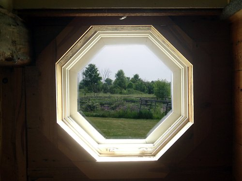 [Picture: Octagonal Window 3]
