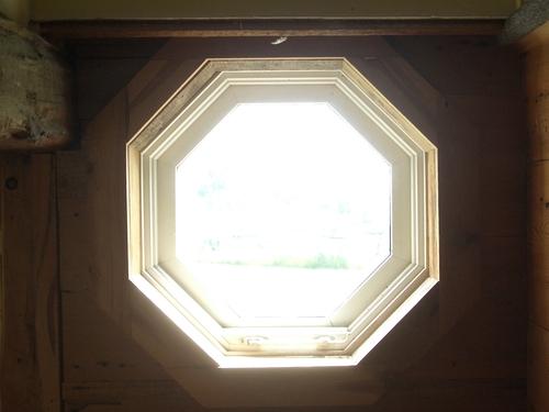 [Picture: Octagonal window 2]