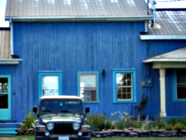 [Picture: Blue house 3]