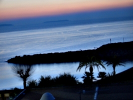 [picture: Sunset promenatory]