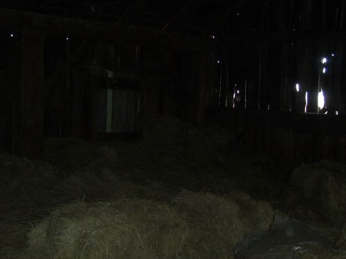[Picture: Inside an old barn 12]