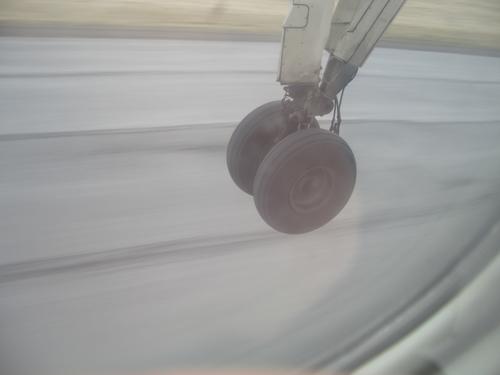 [Picture: Take off!]