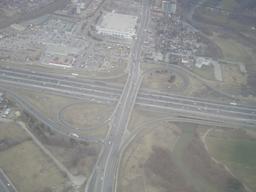 [Picture: Clover-leaf intersection 2]