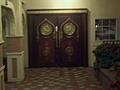 [Picture: Ornate door]