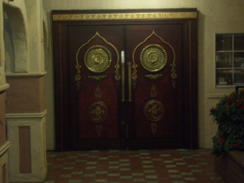 [Picture: Ornate door 2]