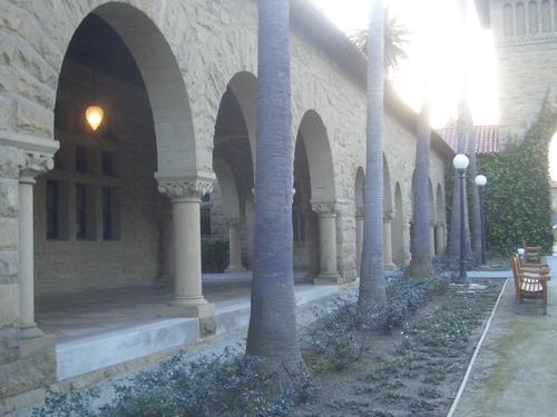 [Picture: More cloisters]