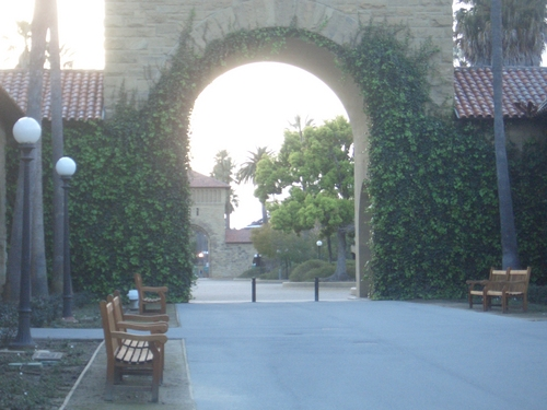 [Picture: Creeper-covered gateway]