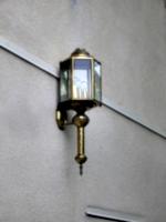 [picture: Outside brass lantern]