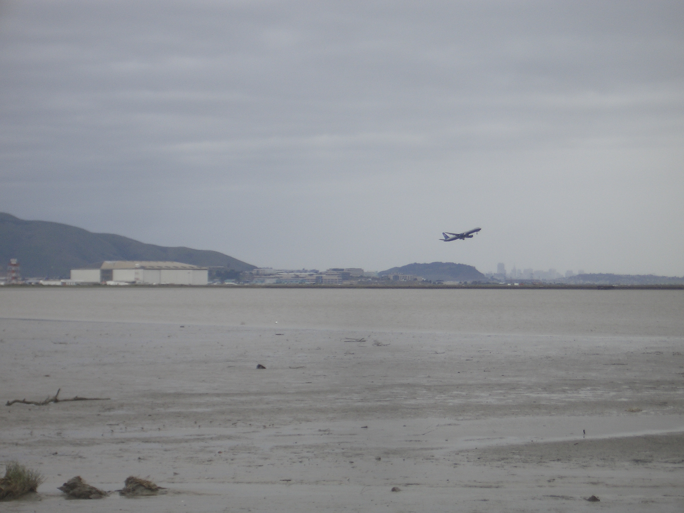 [Picture: plane taking off]
