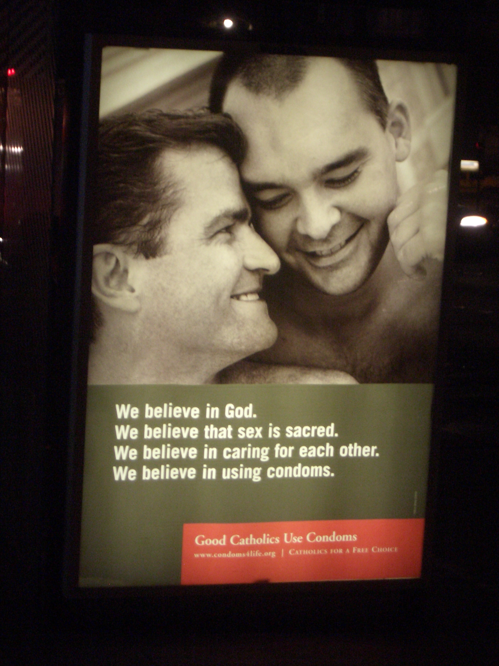 [Picture: We believe in God]