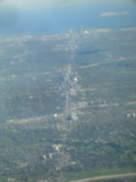 [picture: Yonge Street, Toronto, from Above]