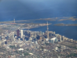[picture: Downtown Toronto from the air 4]