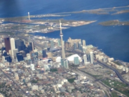 [picture: Downtown Toronto from the air 5]